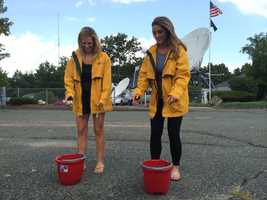 We will show the video of Erika and Olessa's reaction after completing the #IceBucketChallenge Thursday morning on NewsCenter 5 EyeOpener.