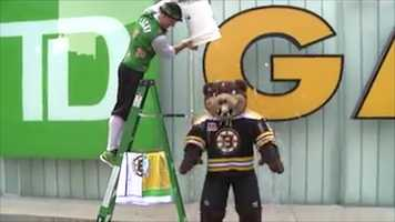 Blades, the Boston Bruins mascot
