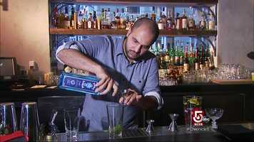 Award-winning mixologist Shaher Misif moved from San Francisco to Boston to help open the Highball Lounge