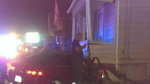 Lynn home porch crash 081014.jpg