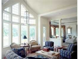The home has more than 20,000 square feet of living space.