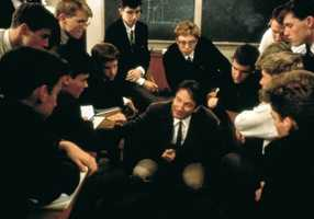 """Williams received a Best Actor Oscar nomination in 1989 for """"Dead Poets Society."""""""