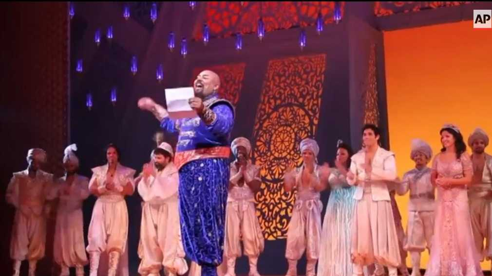 Aladdin cast 8.14