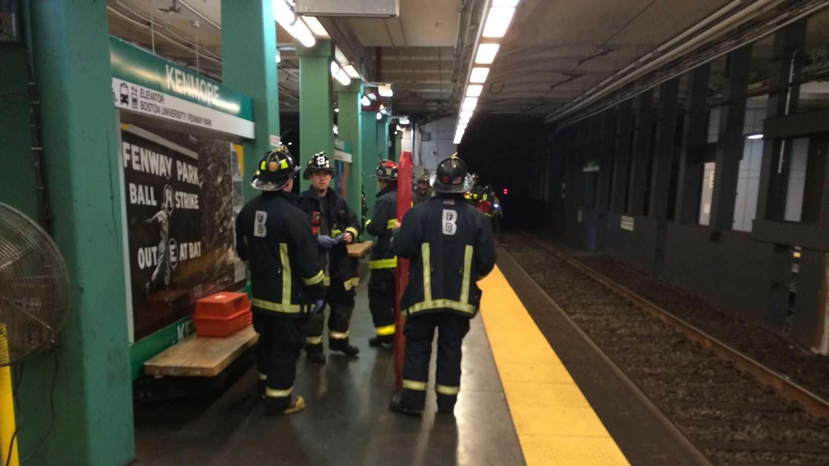 MBTA train stan