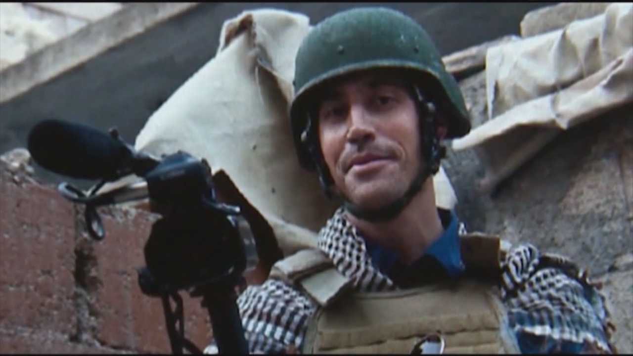 Town mourns slain journalist James Foley
