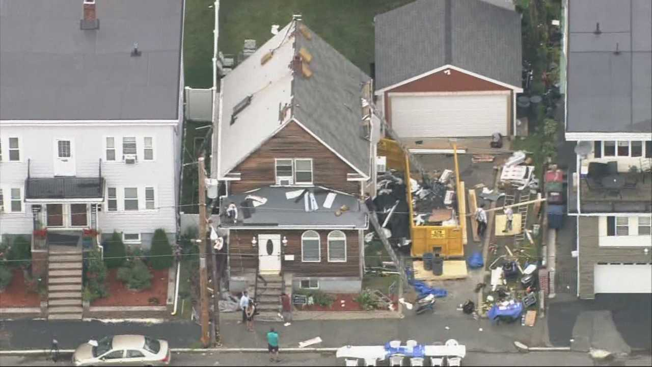 Revere tornado victims win new roof in contest they didn't enter