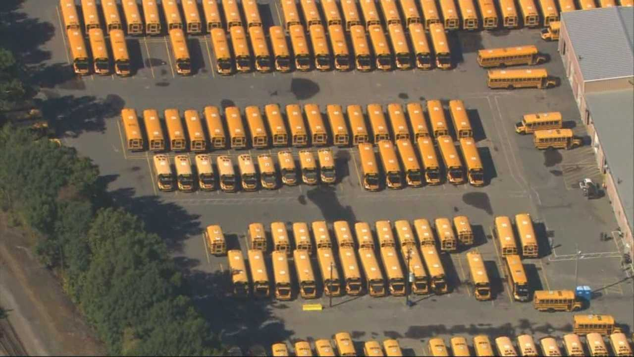 Some school bus routes go unmanned in Boston