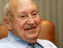 S. Truett Cathy was the billionaire founder of the privately held Chick-fil-A restaurant chain that famously closes on Sundays but also drew unwanted attention on gay marriage in recent years because of his family's conservative views. The chain's boneless chicken sandwich he is credited with inventing would propel Chick-fil-A expansion to more than 1,800 outlets. (March 14, 1921 – September 8, 2014)