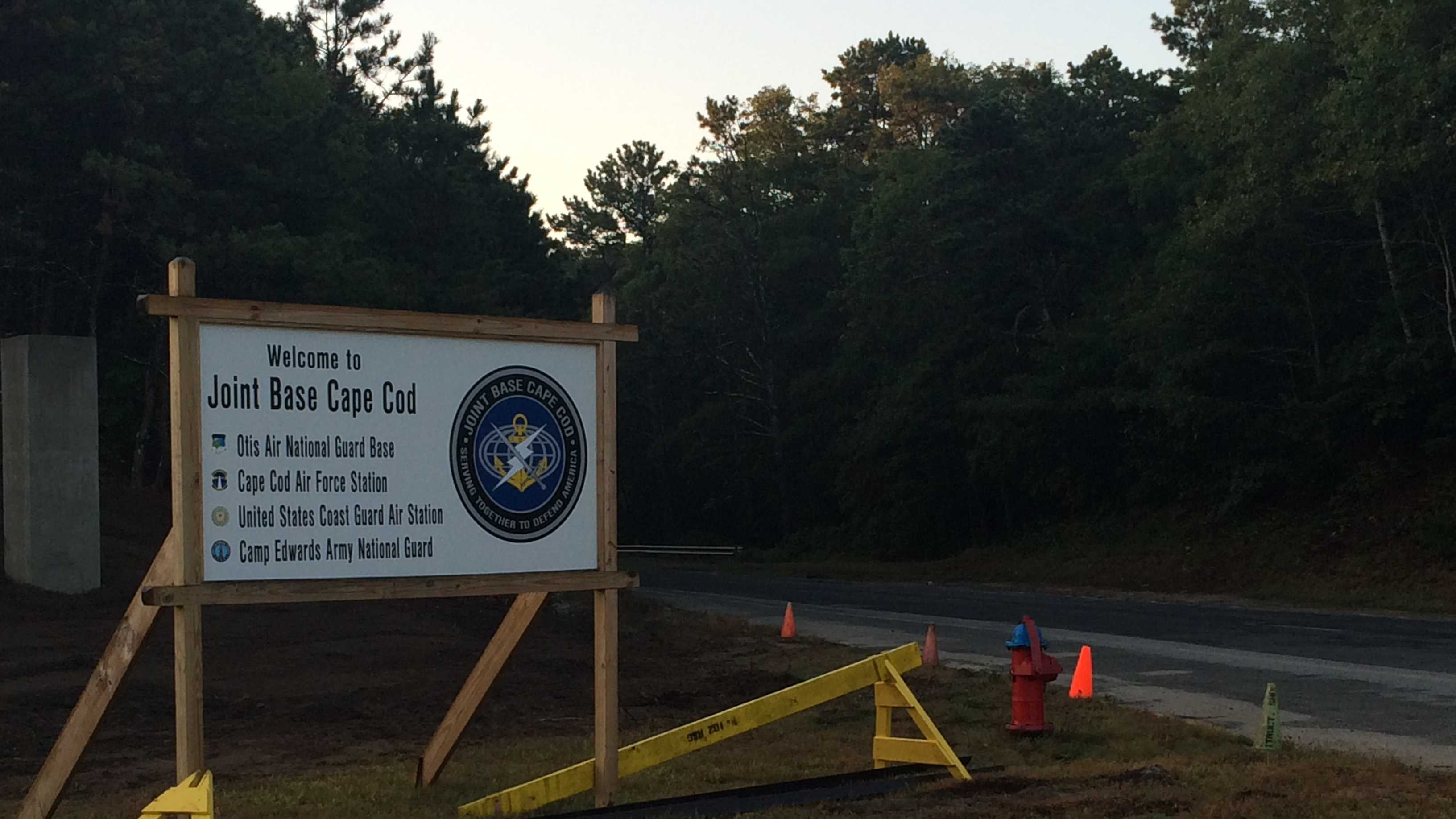 Joint Base Cape Cod Sign 9.22