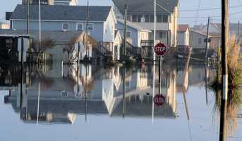 Water can rush in anywhere, even in urban areas. There are several overlooked causes of urban flooding including rainfall and hurricane conditions.