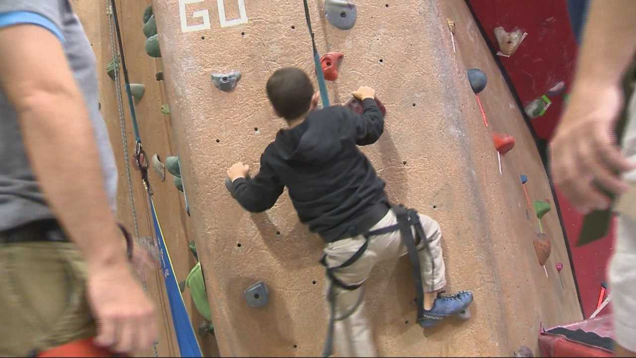 Young burn victims reach for new heights