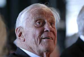 In a charmed life of newspapering, Ben Bradlee seemed always to be in just the right place.The raspy-voiced, hard-charging editor who invigorated The Washington Post got an early break as a journalist thanks to his friendship with one president, John F. Kennedy, and became famous for his role in toppling another, Richard Nixon, in the Watergate scandal.(August 26, 1921 – October 21, 2014)