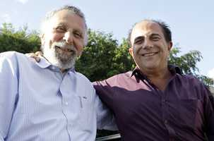 "Tom Magliozzi (left), who with his brother Ray, became famous as ""Click and Clack the Tappet Brothers"" on the weekly NPR show Car Talk. ""They liked to act like they were just a couple of regular guys who happened to be mechanics, but both of them graduated from MIT,"" NPR said. (1937-2014)"
