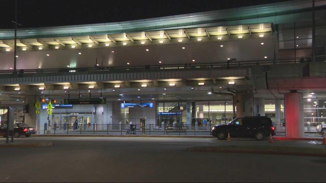 Woman steals MSP cruiser outside Logan airport