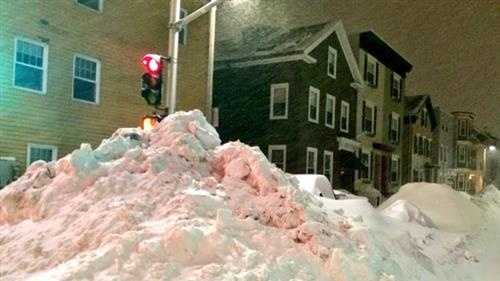South Boston snow pile 2.9