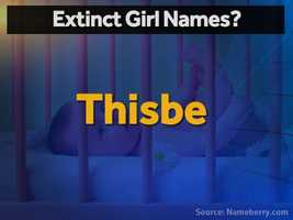 Thisbe -- a doomed young lover whose tale inspired Romeo & Juliet – is about to vanish from the modern lexicon.