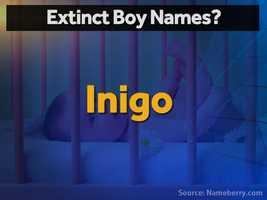 Inigo is the medieval Spanish version of Ignatius.