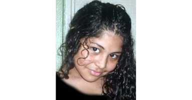 "Kireli VillafuerteMissing Since: Dec. 5, 2011Missing From: Arlington, MADOB: Jul 21, 1996Age Now: 18Sex: FemaleRace: HispanicHair Color: BlackEye Color: BrownHeight: 5'1""Weight: 130 lbs"