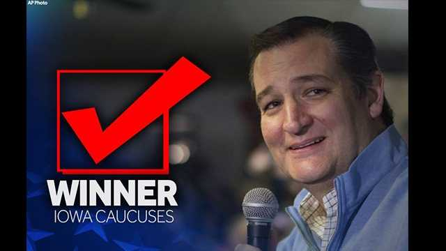 Ted Cruz Iowa win