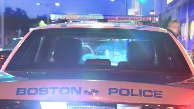 Generic Boston police cruiser