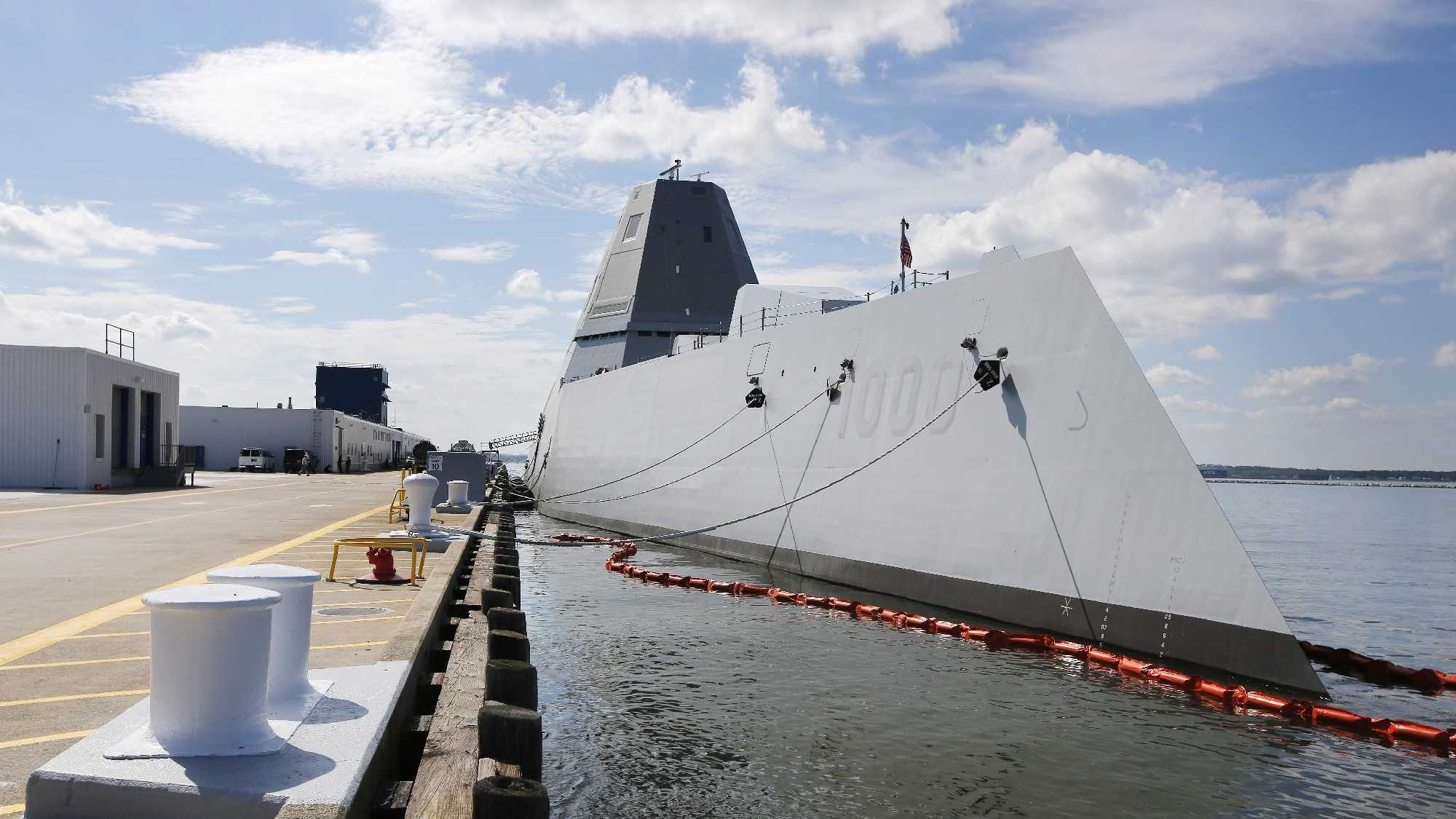 Zumwalt ship navy