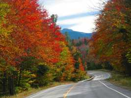 Kancamagus Highway in New Hampshire