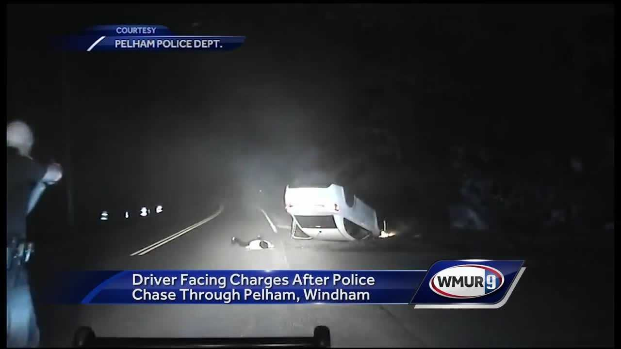 Police release dashcam video of chase through Pelham roads