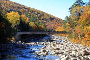 The Kancamagus Highway is a 34.5 mile scenic drive along Route 112 in Northern New Hampshire.