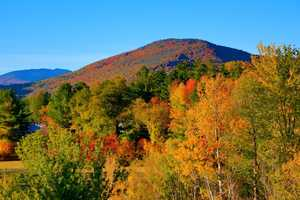 If you prefer more populated areas, the views in North Conway are spectacular. You'll also have phone service there, depending on your cellphone carrier.