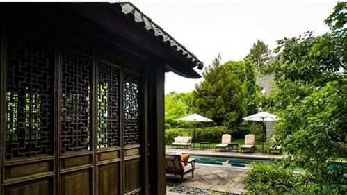 2 2m Home Has Heated Lap Pool Zen Style Gazebo