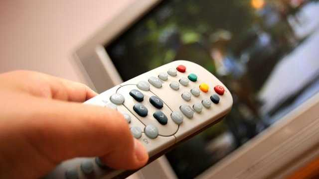 Television with remote