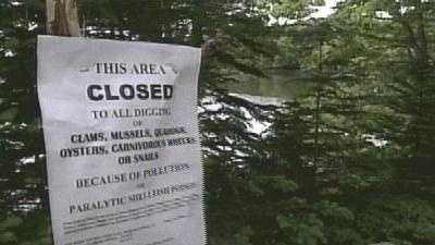 Clam Flats Closed