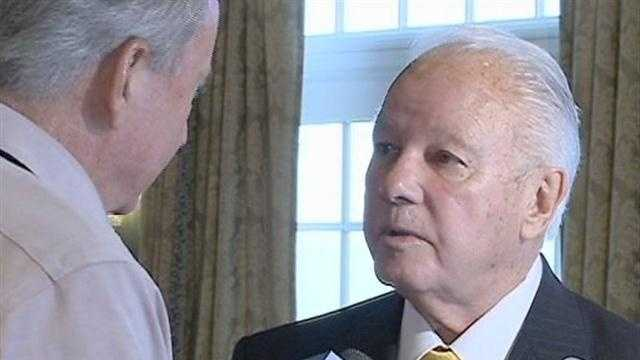 Edwin Edwards Makes First Public Appearance Since Prison - 28529037