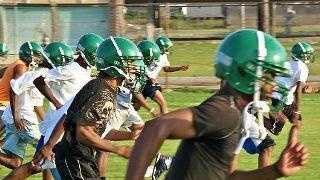 Carver High School Football Practice - 25378452