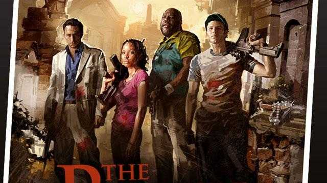 Left 4 Dead poster -- zombie video game