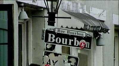 Generic Bourbon Sign - 11231165