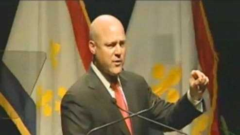 Mayor Mitch Landrieu (delivering 2012 State of the City address)