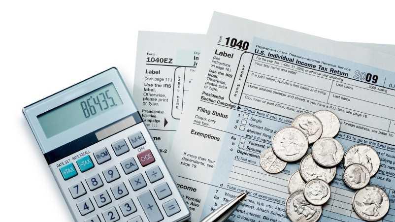 taxes, calculator, tax forms