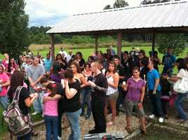 June 15, 2012: Friends and family hold a vigil for Jaren Lockhart. Read the story