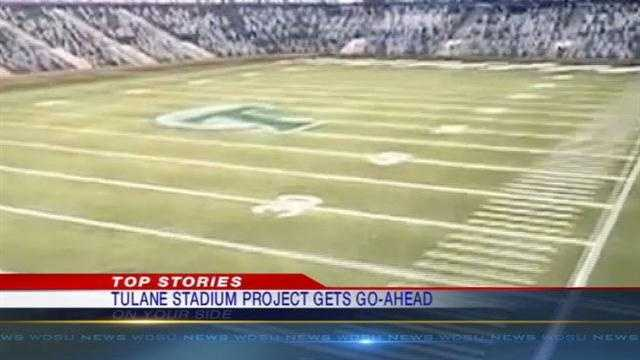 The New Orleans City Council basically gave the go-ahead on Thursday for Tulane to build its football stadium.