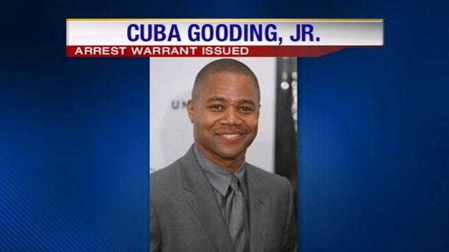 Arrest warrant issued for Cuba Gooding Jr.