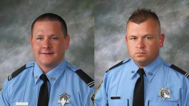 Deputy Michael Scott Boyington and Deputy Jason Triche
