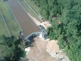 Lock 2 on Louisiana's Pearl River Navigational Canal