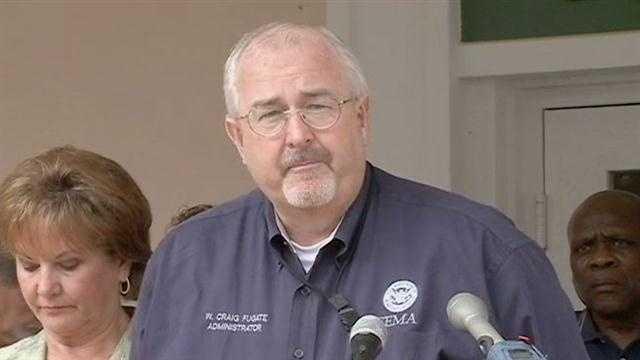 Craig Fugate Promises Help FEMA For Isaac Victims