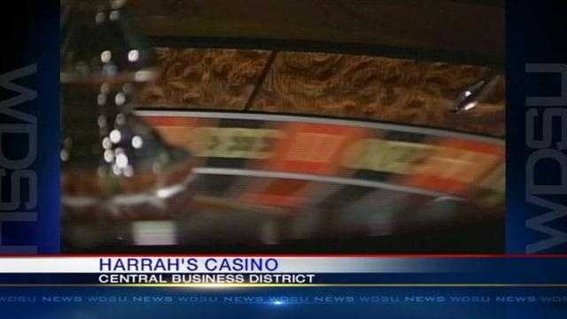 Harrah's holds a job fair in the Central Business District.