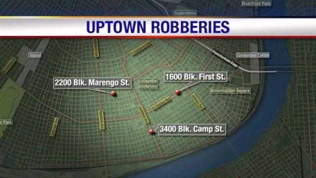 Two teens arrested in string of Uptown robberies