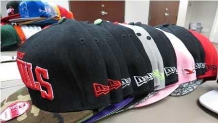 Agents seize counterfeit hats, jerseys