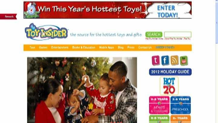 Toy Insider website