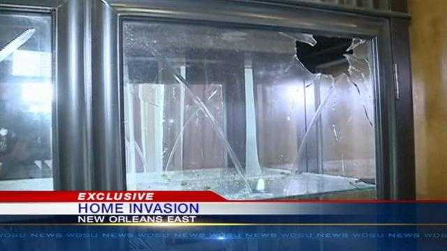 A family is upset and angry after armed men broke into their home Wednesday morning.