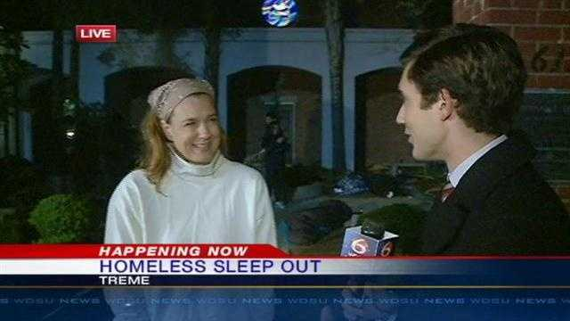"City officials ""Sleep Out"" to raise awareness on youth homelessness"